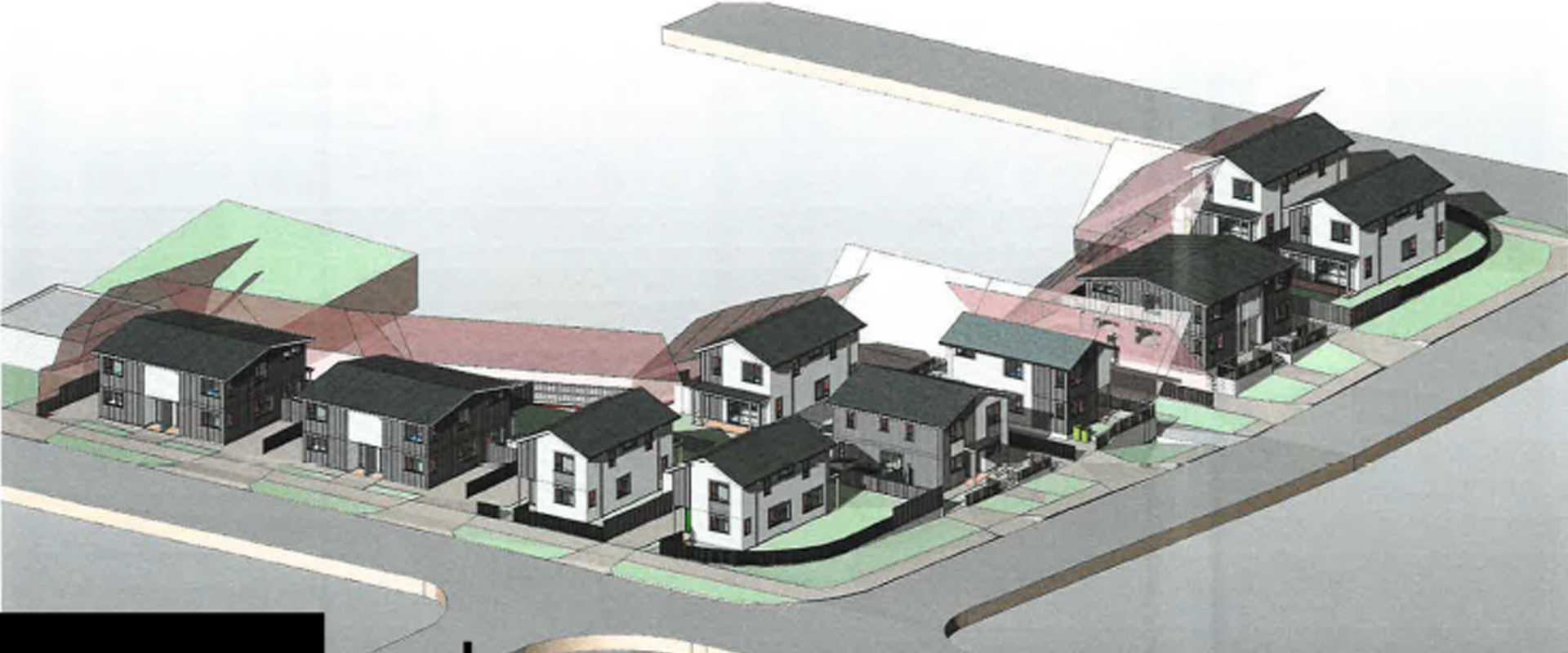 Alford Street and Saxon Street render