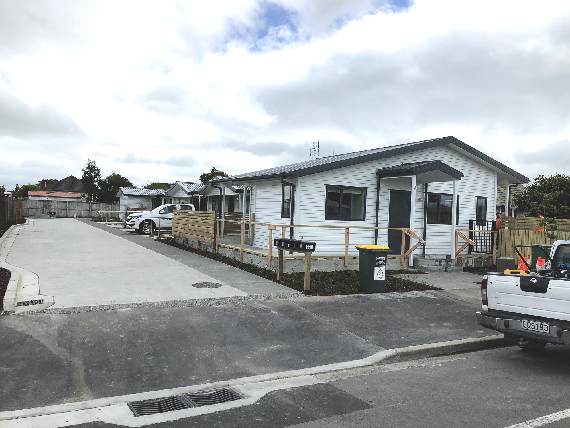 Williams St Kaiapoi progress AR102626