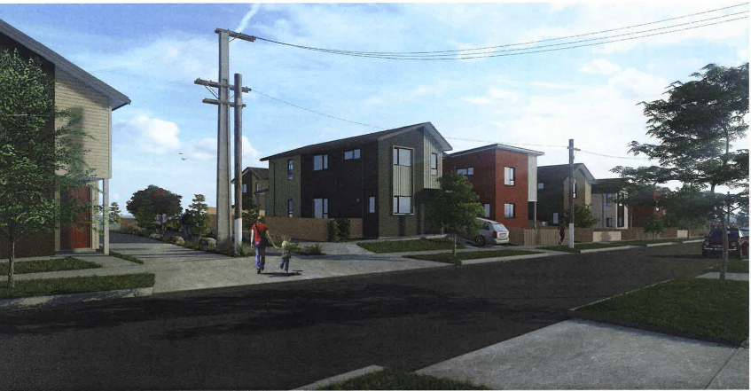 State Avenue and Rockfield Road render