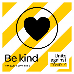 COVID 19 Be kind icon